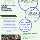 NUORISO-MASSII Kestävään kehitykseen