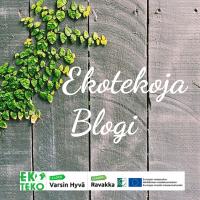 Ekotekoja-blogi on käynnistynyt – tule mukaan edistämään kestävää elämää!