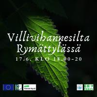 Kesäinen villivihannesilta Rymättylän Röölässä 17.6.