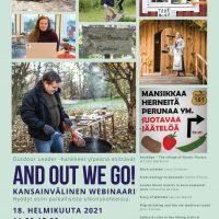 And out we go! – Webinaari luontomatkailun mahdollisuuksista 18.2.2021